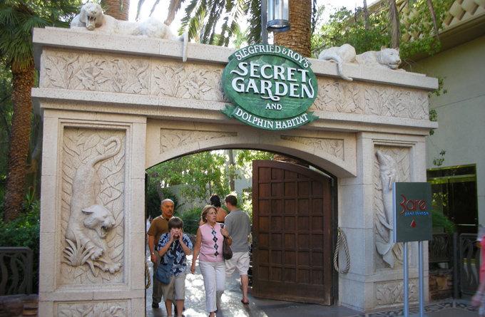 拉斯维加斯景点:神秘园与海豚馆